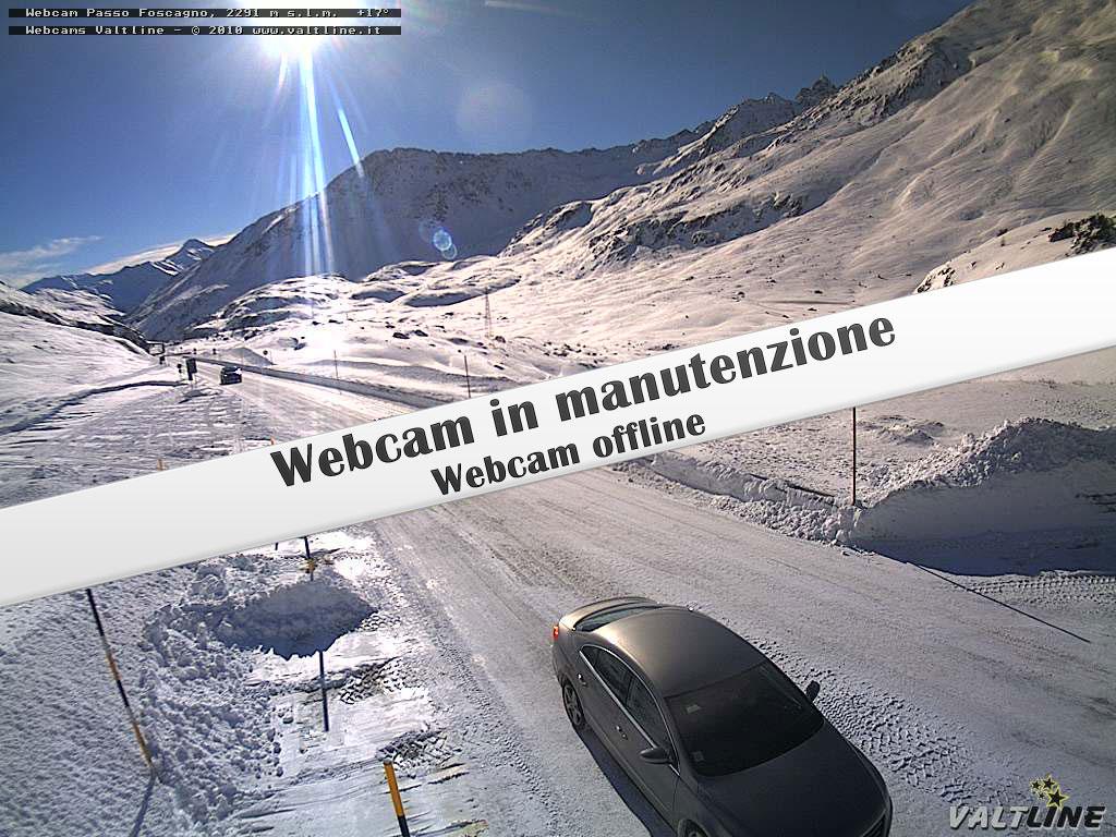 Webcam Passo del Foscagno