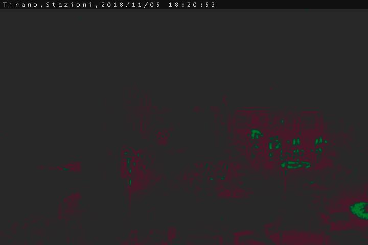 Tirano, webcam Stazione